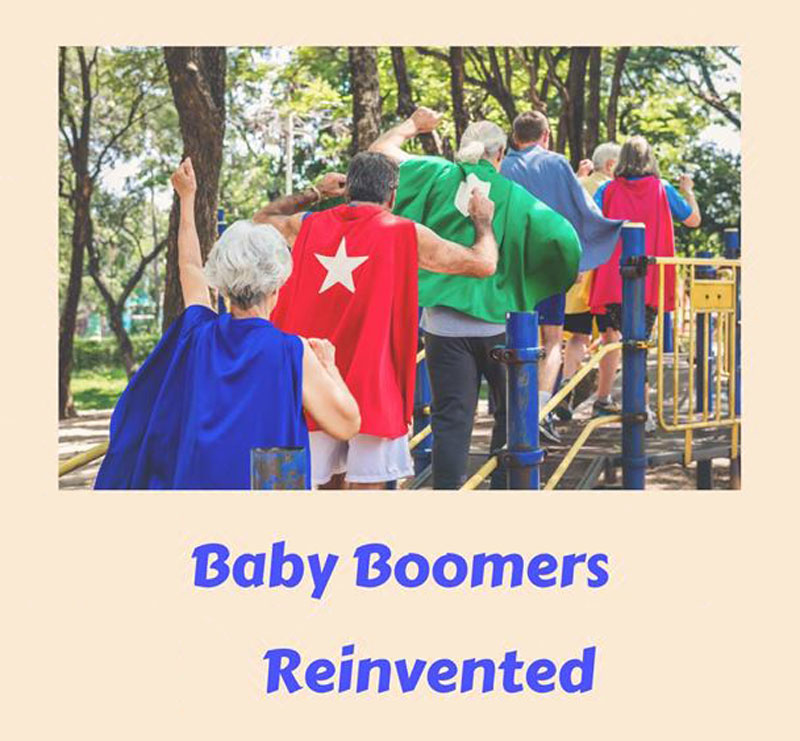 Baby Boomers regaining, reclaiming and relying on our own authority and living with vitality!