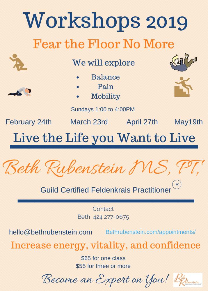 Beth Rubenstein - Fear The Floor No More Workshop